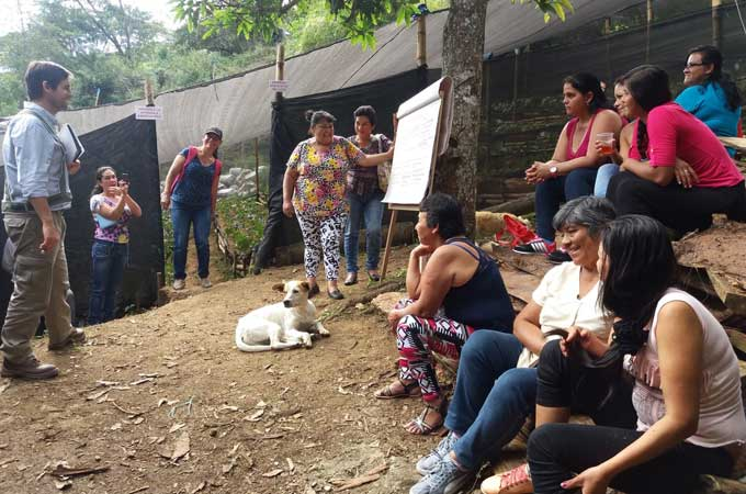 The Nature Tourism Project in Colombia