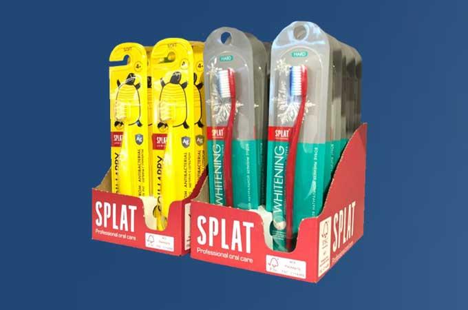 Splat sustainable packaging