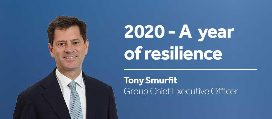 Leadership CEO Tony Smurfit