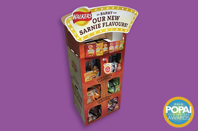 Point of Sale Display for Crisps
