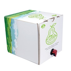 Bag-in-Box packaging for cider