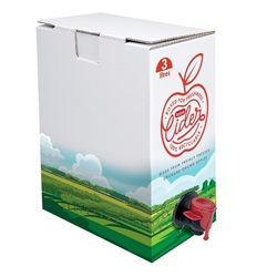 bag-in-box cider packaging