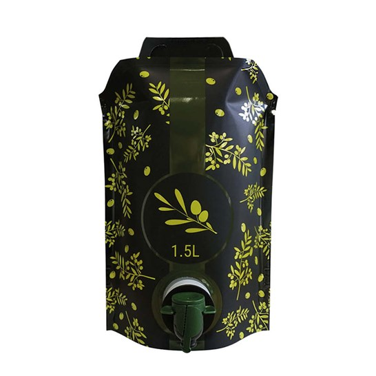 Pouch up olive oil