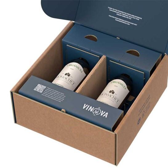Duo Bottle Packaging, Two Bottle Packaging, Double Bottle Packaging, Packaging for 2 bottles
