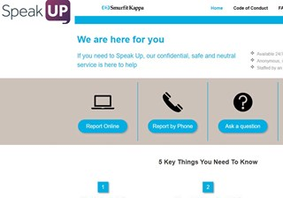 Speak Up Website