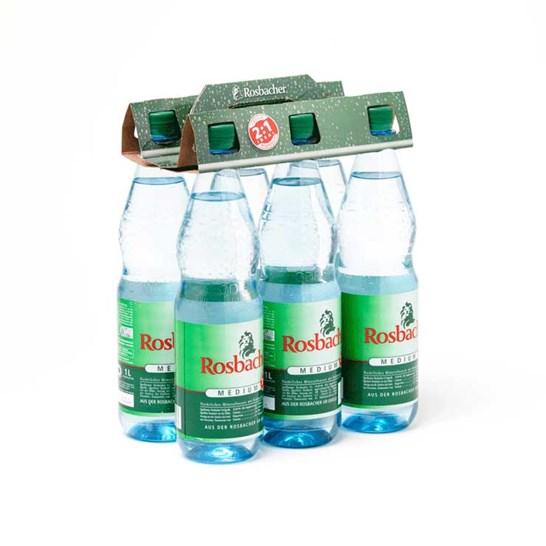 Multipack flessendrager voor frisdrank