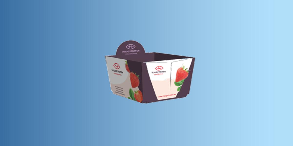Hoogstraten Erdbeerverpackung