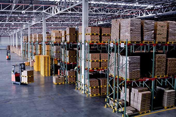 Hochregal Lager Logistik