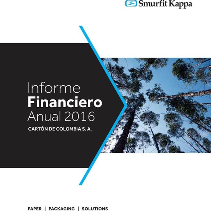 Informe Financiero Anual SKCC 2016