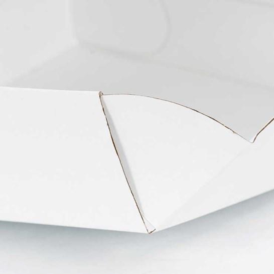 Detalle de cajas para pasteles