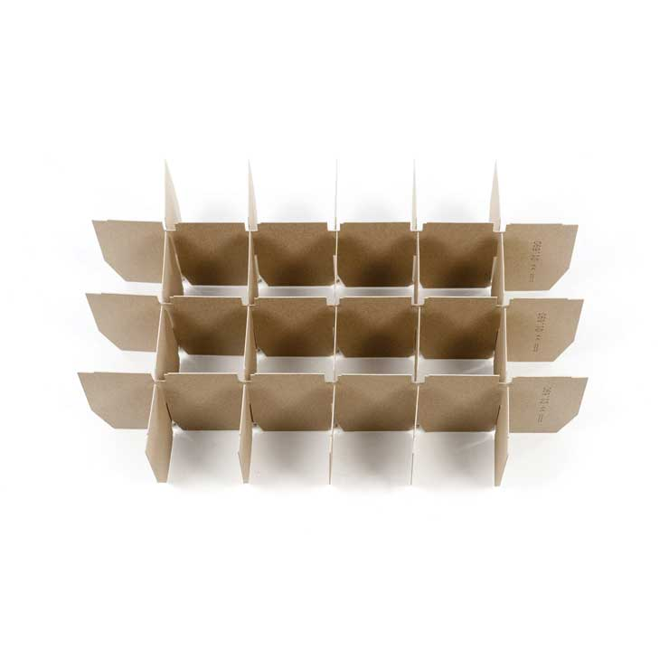 Separadores de cartón para cajas