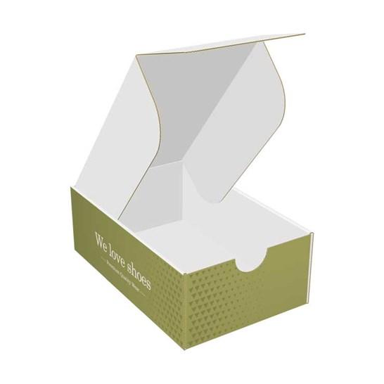 Caja de zapatos de cartón personalizada
