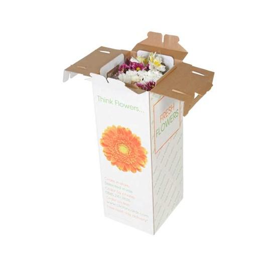 Cajas de cartón para flores