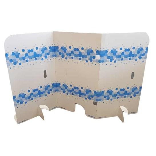 mur protecteur en carton