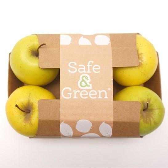 barquette carton pomme