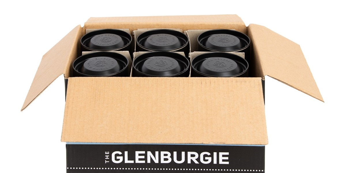 Glenburgie Box | Tube Packaging | Chivas Brothers | Smurfit Kappa Composites | Composite Tubes | Spirits Packaging