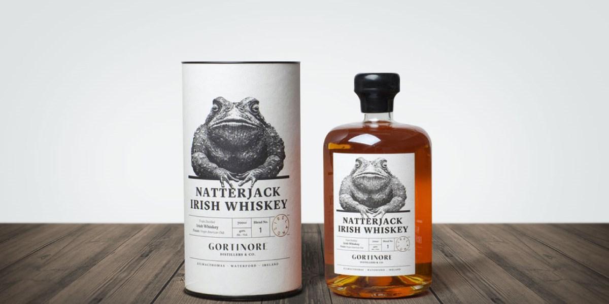 Natterjack Luxury Drinks Tube Packaging