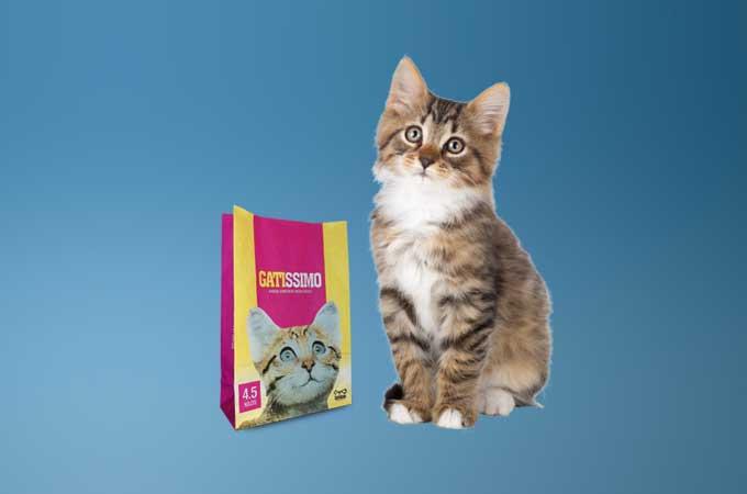Packaging for cat litter
