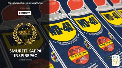 EFIA gold Award WD40