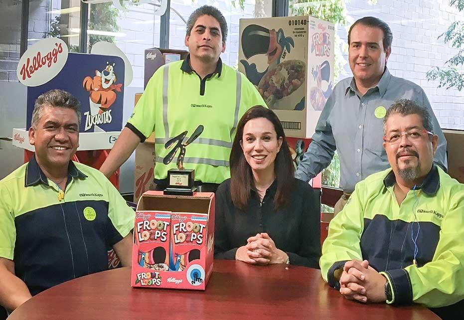 Smurfit Kappa team behind Kellogg's Award