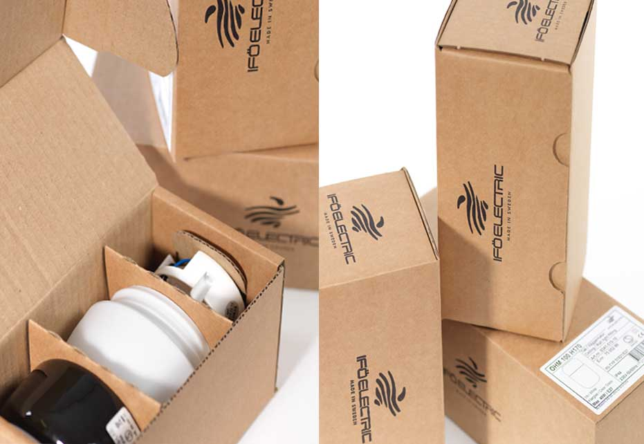 IFO lamp packaging