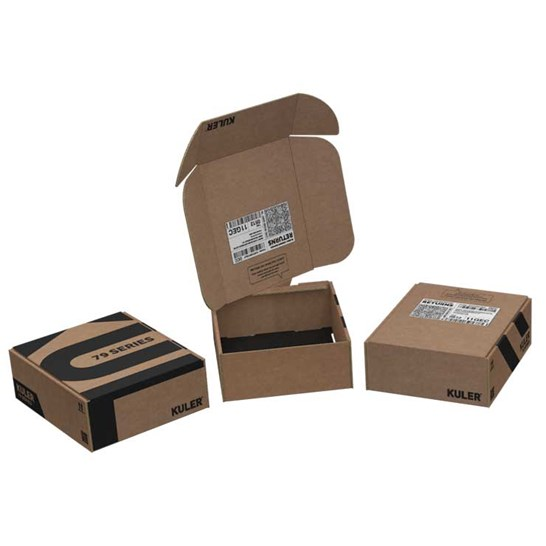 eCommerce return packaging twist and turn