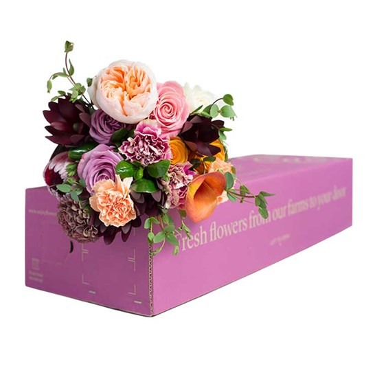 Flowers Box eCommerce Packaging