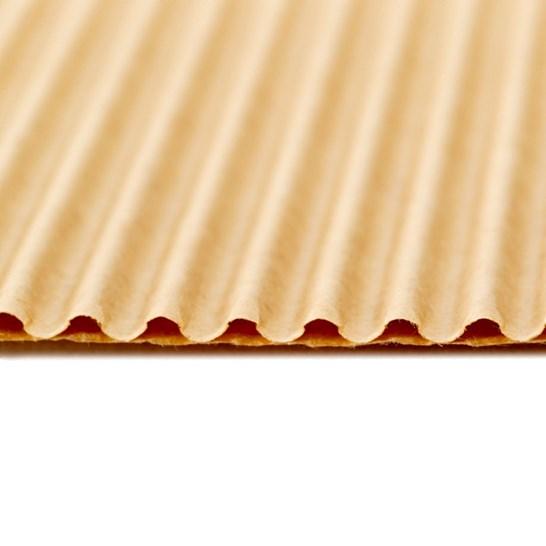 pizza box liner single face corrugate