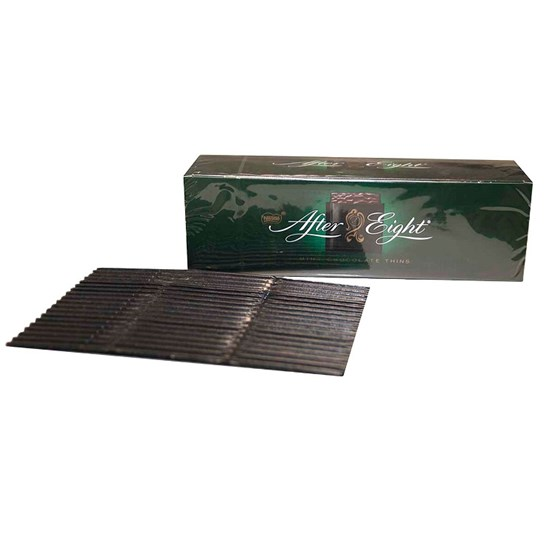 single face corrugated packaging - after eight chocolates
