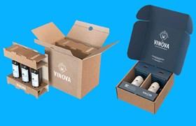 Packaging for bottles, bottle packaging