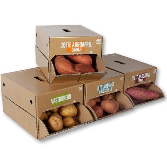 Retail Ready Packaging RRP Aardappelen