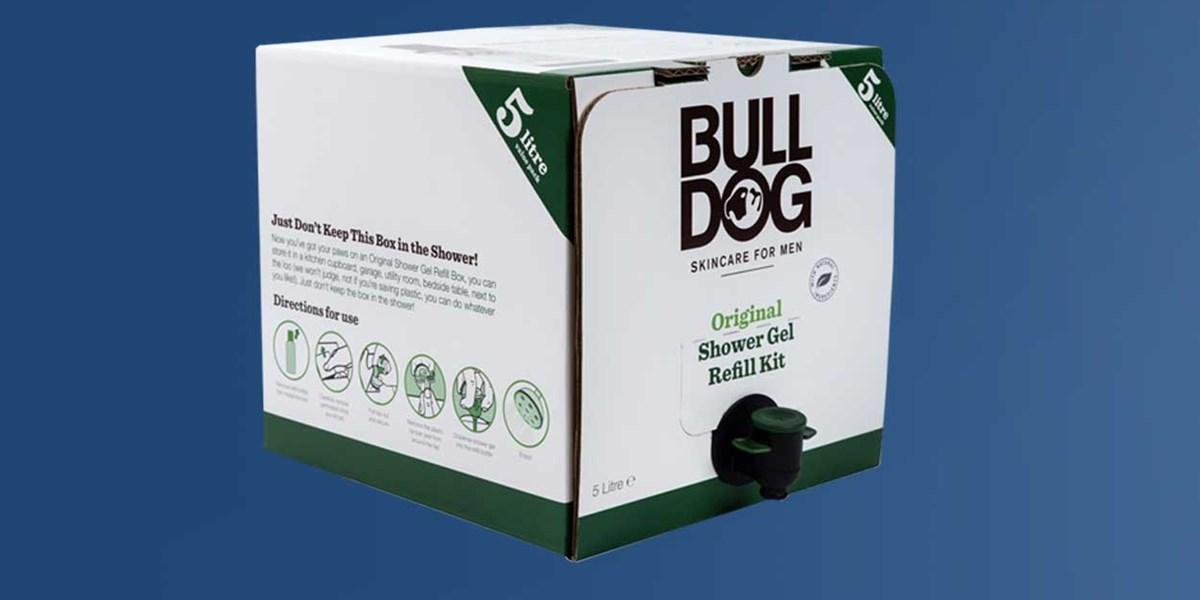 Bulldog sustainable packaging