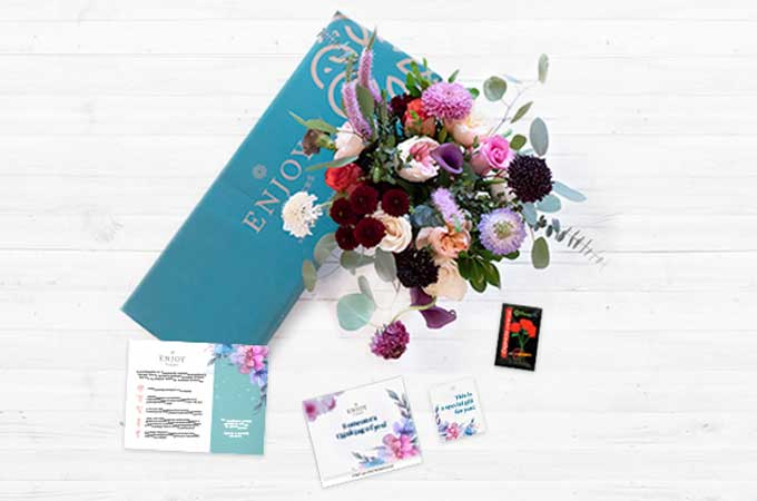 Flowers eCommerce Packaging Box