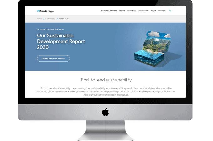 SDR 2020 Microsite