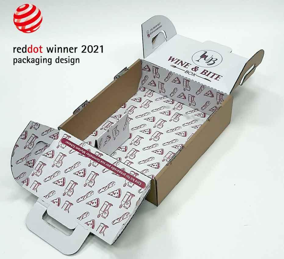 Red dot 2021, packaging design