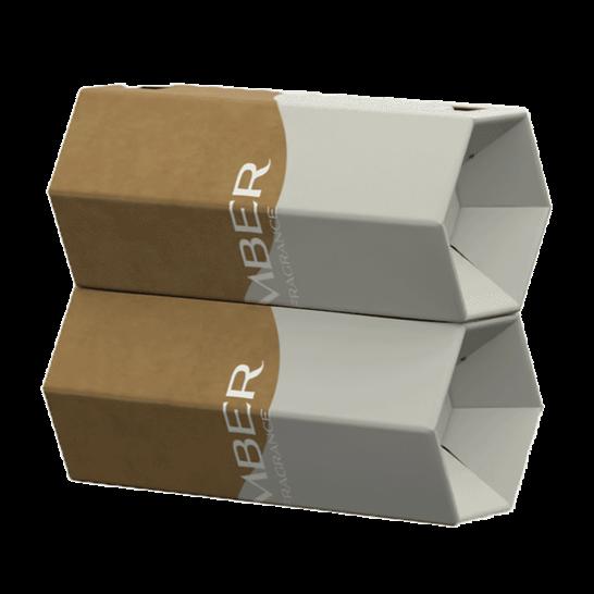 Rollor Fragrance packaging