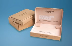 Sustainable beauty eCommerce packaging for Paula's Choice