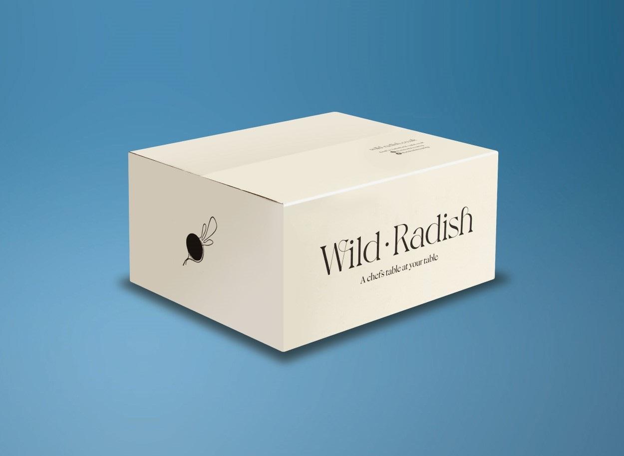 wild radish eCommerce packaging