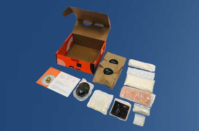 Rceta Recipe Box Packaging